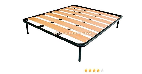 SOMIER con amplia Láminas, tamaño: cama doble 160 x 190 cm