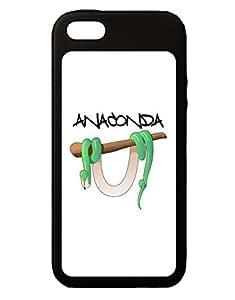 Anaconda Design Green Text iPhone 5C Grip Case