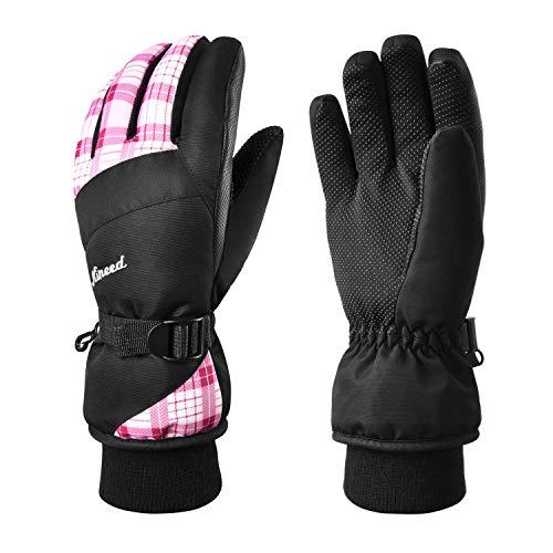 KINEED Waterproof Ski Gloves
