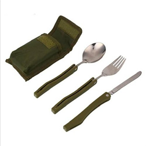 Price comparison product image Generic e Outdoor Travel Cutlery ble Out Set Knife l Cutle Kit Tableware Set oon Fork Kit Tab Portable Outdoor Picnic Fork Kit Ta Spoon Fork