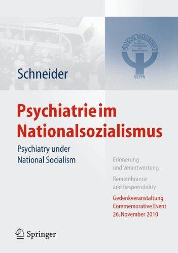 Psychiatrie im Nationalsozialismus: Psychiatry under National Socialism