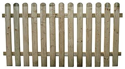 Steccato Per Giardino : Staccionata ela steccato recinzione pz in legno di pino per