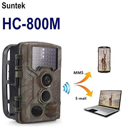 DJLOOKK Cámaras de Caza H1 HD de 16MP con detección de Movimiento Ultra rápido de día y de Noche, Velocidad de Disparo...