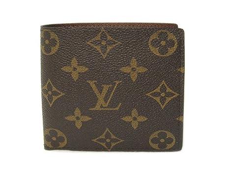 eed326c8aefb Amazon.co.jp: (ルイヴィトン) LOUIS VUITTON M61675 財布 二つ折り小銭財布 メンズ モノグラム  ポルトフォイユ・マルコ [並行輸入品]: 服&ファッション小物
