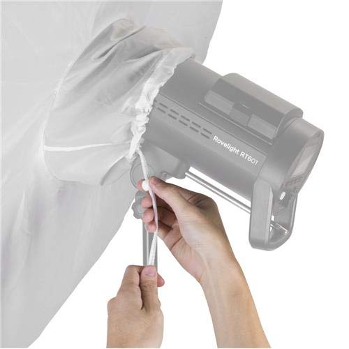 Glow Easy Lock 65'' Translucent Umbrella Diffuser by Glow (Image #2)