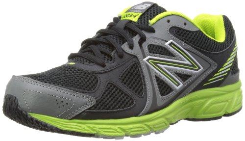 New Balance Men's M480V4 Running Shoe, Black/Lime, 11 D US