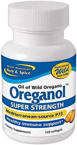 Oreganol P73, Super Strength – 120 Softgels by North American Herb and Spice