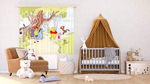 Tende Per Camera Bambini : Ag design tende winnie the pooh disney tende per camera