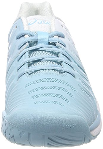 Asics Gel-Resolution 7, Scarpe da Tennis Donna Turchese (Porcelain Blue/Silver/White)