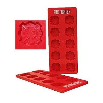 Fire Department Emblem  Chocolate Candy Mold  Fireman Crest