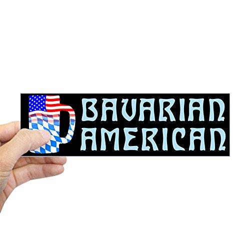 - CafePress Bavarian American Beer Stein Bumper Sticker 10