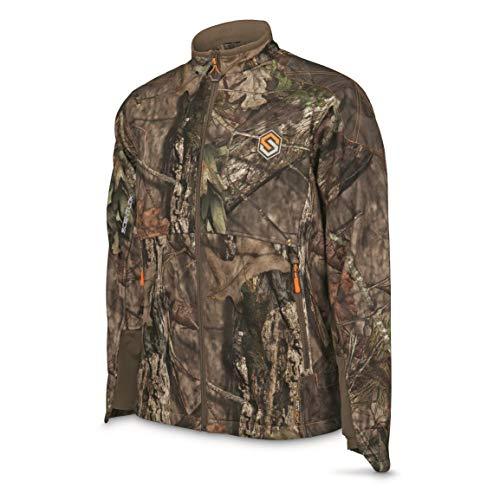 ScentLok Men's Full Season TAKTIX Hunting Jacket, Mossy Oak Break-Up Country, L