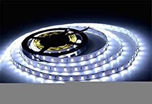 300LEDs 5 Meter SMD 5630 Flexible LED Strip Light DC 12V (White)