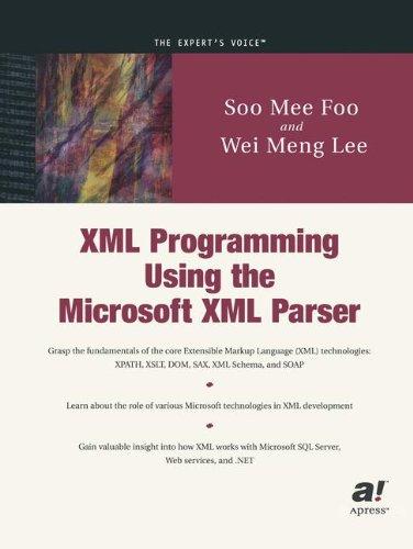 XML Programming Using the Microsoft XML Parser by Brand: Apress