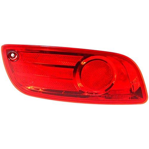 Reflector Left Driver (Diften 168-C0927-X01 - New Bumper Face Bar Reflector Light Lamp Rear Driver Left Side LH Hand HY2830100)