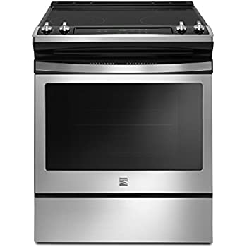 Kenmore 95113 4.8 cu. ft. Self Clean Front Control Electric Range in Stainless Steel, includes delivery and hookup