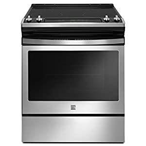 Kenmore 94173 5.3 cu. ft. Self Clean Electric Range in Stainless Steel 41qud 2BVClGL