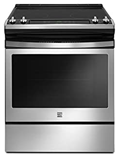 Kenmore 4.8 cu. ft. Self Clean Front Control Electric Range in Stainless Steel, includes delivery and hookup -2295113 (B074BZ49NP)   Amazon price tracker / tracking, Amazon price history charts, Amazon price watches, Amazon price drop alerts