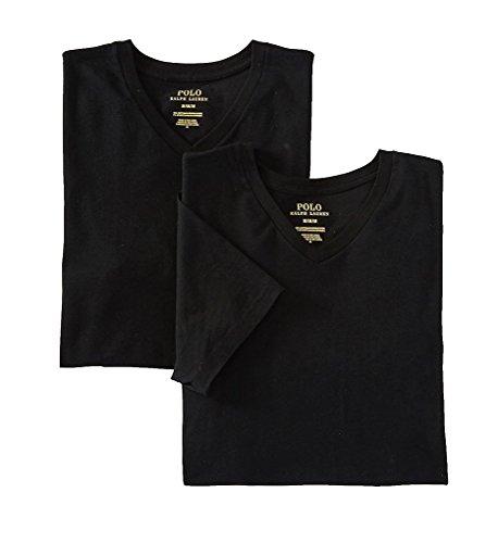 Polo Ralph Lauren Stretch Cotton T-Shirt 2-Pack, S, Polo Black