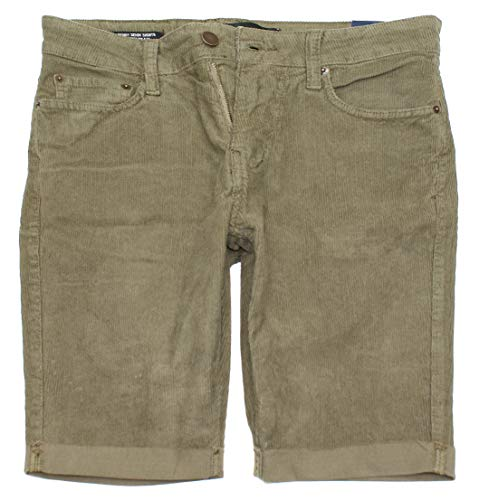 Hollister Men's Epic Flex Skinny Corduroy Denim Shorts (9