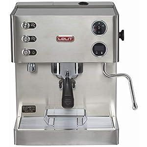 Lelit Elizabeth PL92T Macchina Espresso Semiprofessionale Dual Boiler e Preinfusione - Ideale per Caffè Espresso, Cappuccino - Carrozzeria in Acciaio Inox Satinato