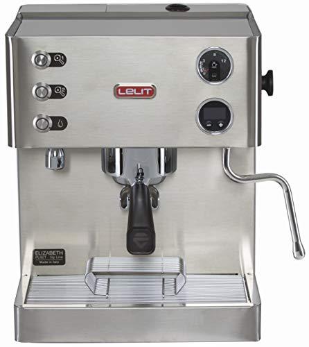 Lelit PL92T Elizabeth, Máquina de Espresso Semiprofesional-Doble Caldera-Preinfusione-Pantalla gráfica LCD-Sistema de…