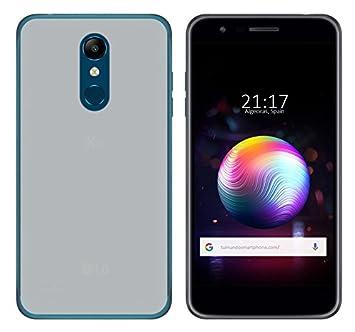 Tumundosmartphone Funda Gel TPU para LG K11 Color Transparente