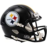 Riddell Pittsburgh Steelers Revolution Speed Mini Football Helmet - NFL Mini Helmets