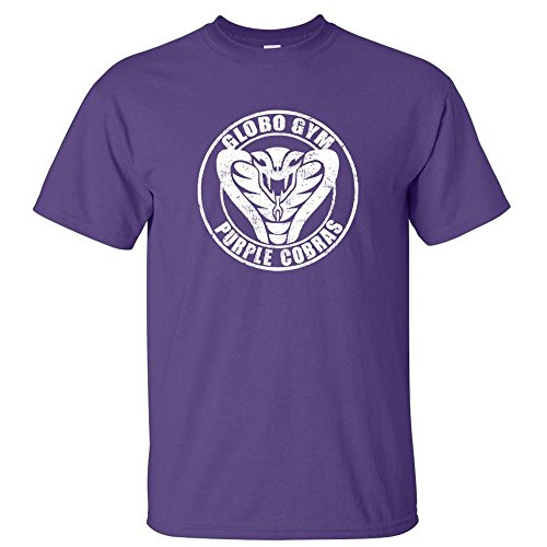 Globo Gym Purple Cobras Dodgeball School Uniform Mens T Shirt Purple