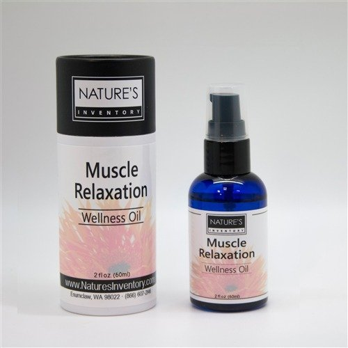 Muscle Relaxation Wellness oil Nature's Inventory 2 fl oz (60ml) Liquid