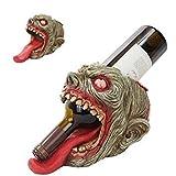 zombie wine holder - WALKING UNDEAD HORROR ZOMBIE SCALPTED HOLE WINE BOTTLE HOLDER
