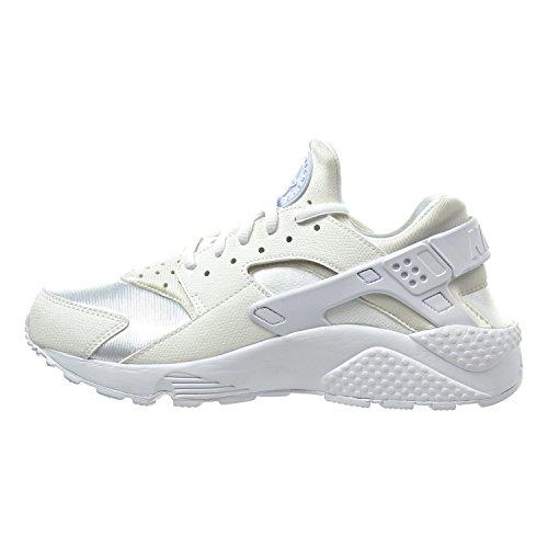 Nike Air Huarache Courir Chaussures Femmes Blanc / Blanc 634835-108