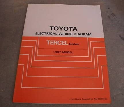 troubleshooting wire diagram 1987 toyota tercel sedan electrical wiring diagram troubleshooting  1987 toyota tercel sedan electrical