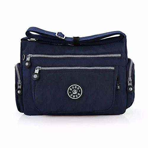 Satchel Navy Messenger Bag Ladies Cross Body Tote Weight Womens Fabric Handbag Women Light YDezire® Shoulder 7RxwFqHp7