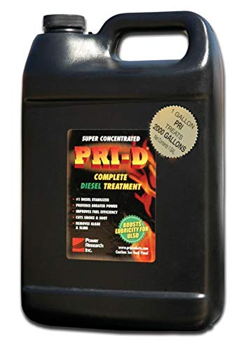 PRI-D Fuel Stabilizer- For Diesel.+FREE SHIPPING+ CASE QUANTITY= 6 of the 1-Gallon Size Bottle Each Bottle Treats 2040 Gallons