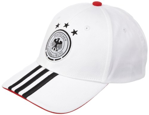 adidas Uni Kappe DFB 3 Streifen, white/black, OSFM, X16276