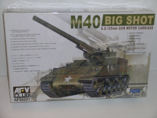 (M-40 Big Shot 155mm Gun Motor Carriage 1-35 AFV Club)