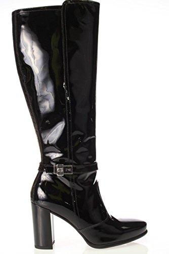 Nero Giardini Mujer STIVALE A513683DE-100 STIVALE de Pintura negro
