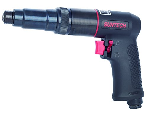 SUNTECH SM-83-7500 Sun match 1/4″ Air Screwdriver (800RPM) Adjustable Clutch, Black
