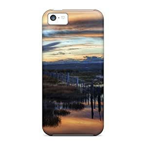 New Arrival Case Specially Design For Iphone 5c (flooded Grassls After A Storm)