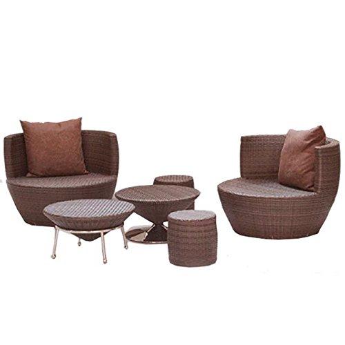 Amazon.com: Imatation bambú – ratán juego de sofá/sofá/sofá ...