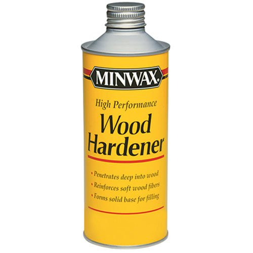 Minwax 41700000 High Performance Wood Hardener, - Epoxy Stain Wood