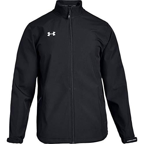 Under Armour Men's Hockey Softshell Jacket (Medium, Black)
