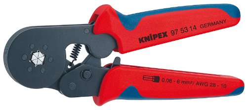 KNIPEX 97 53 14 Self-Adjusting Crimping Pliers by KNIPEX Tools