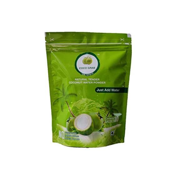 COCO GRAB Tender Coconut Water Powder, 120 Grams