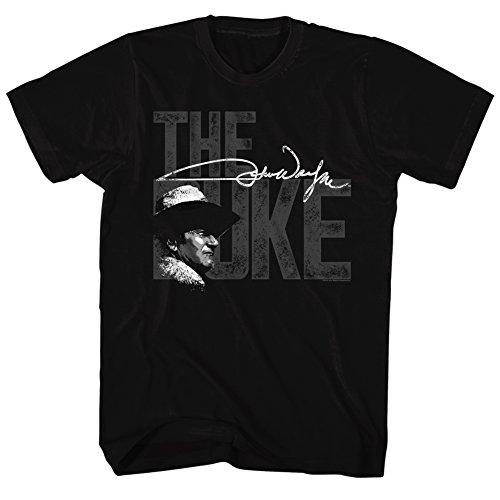 John Wayne - Mens T-Shirt, Size: Large, Color: Black
