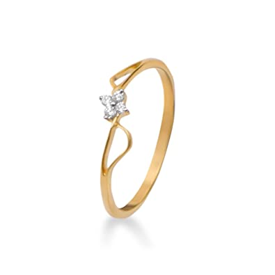 Buy Joyalukkas Pride Diamond Collection 18k Yellow Gold and