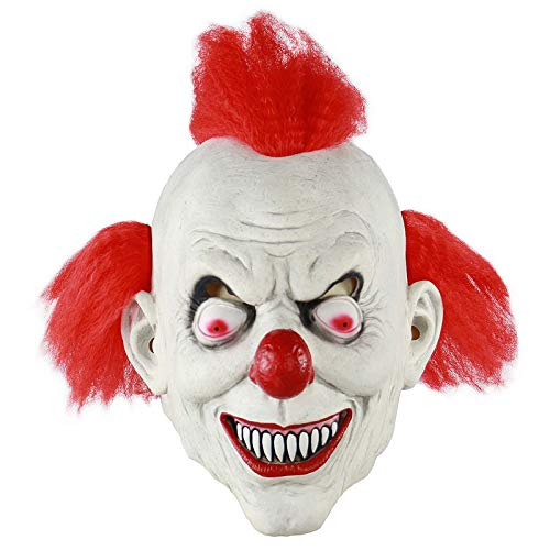 (V2AMZ - Realistic Festival Party Supplies Halloween Latex Mask Horrifying Mask Latex Mask With Hat For Masquerade Halloween)