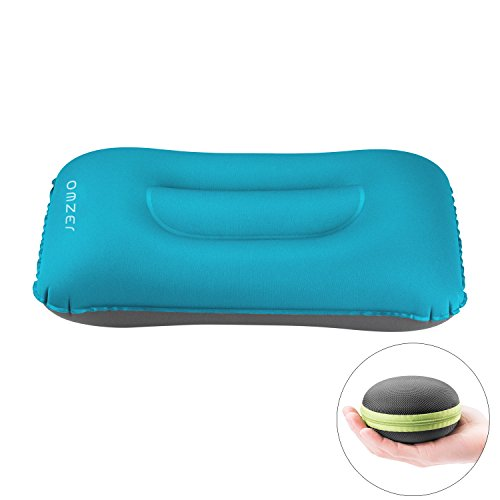 Pillow Fold (OMZER Inflatable Travel Camping Pillow, Backpacking Pillow Portable Compressible Pillow for Neck and Lumbar Support, Outdoor Hiking, Backpacking, Airplane, Car, Office Sleeping)