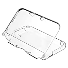 SODIAL(R) Crystal Case Compatible With Nintendo 3DS XL, Clear